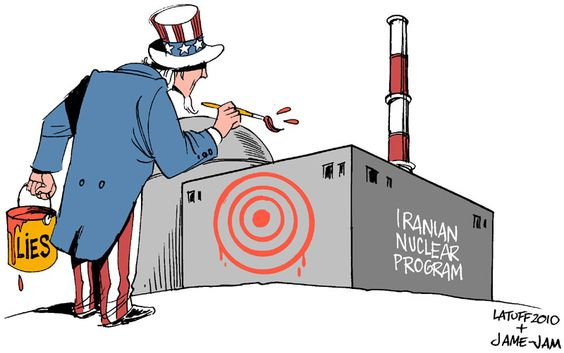 Targeting Iran nuclear program by ~Latuff2 on deviantART