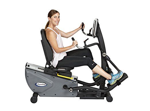 Hci Fitness Physio Step Hxt Recumbent Compact Semi Elliptical