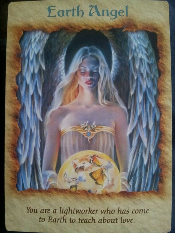 Angel Therapy Oracle Cards Doreen Virtue: Decks, Therapy And Earth On Pinterest