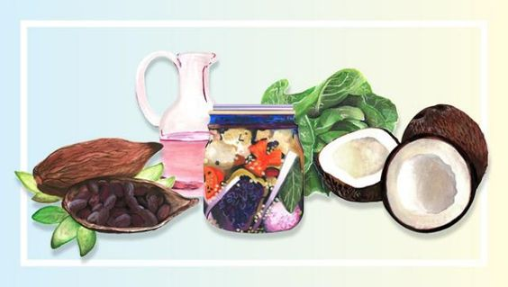"""5 """"Beauty Foods"""" to Eat for Clearer Skin and Shinier Hair"""
