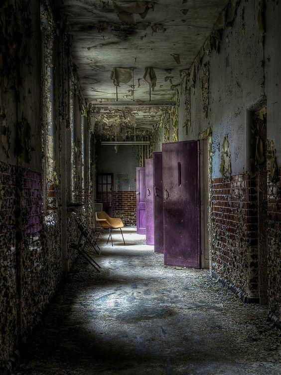 Purple Cell doors