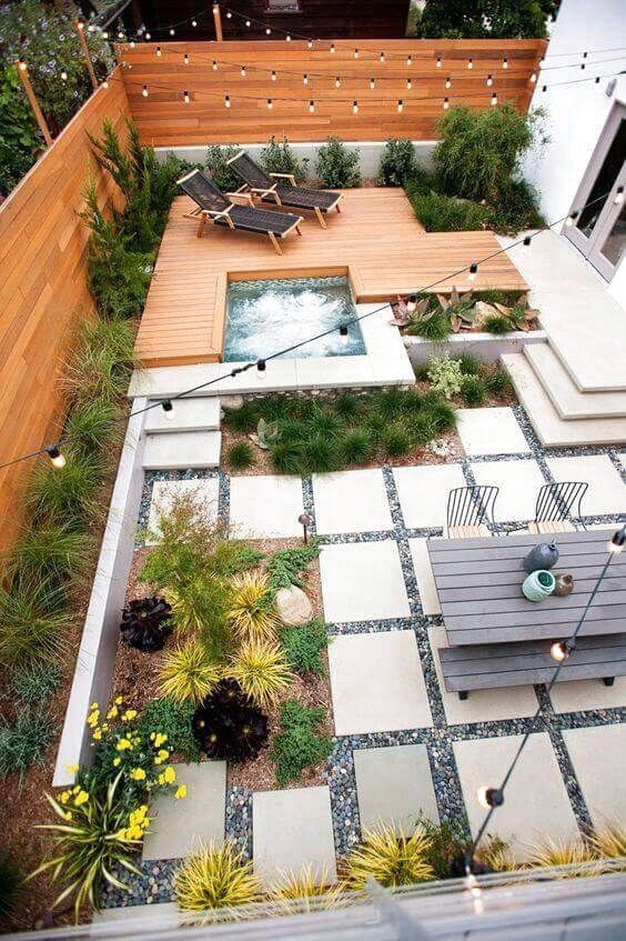 34 Favourite Front Yard And Backyard Landscaping Ideas On A Budget Modern Backyard Landscaping Backyard Landscaping Designs Backyard Layout