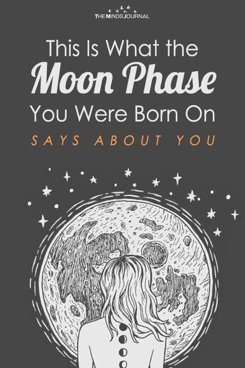 Lunar Personality Type What The Moon Phase You Were Born In Says About You Cresent Moon Tattoo Meaning Moon Phases Moon Phases Meaning