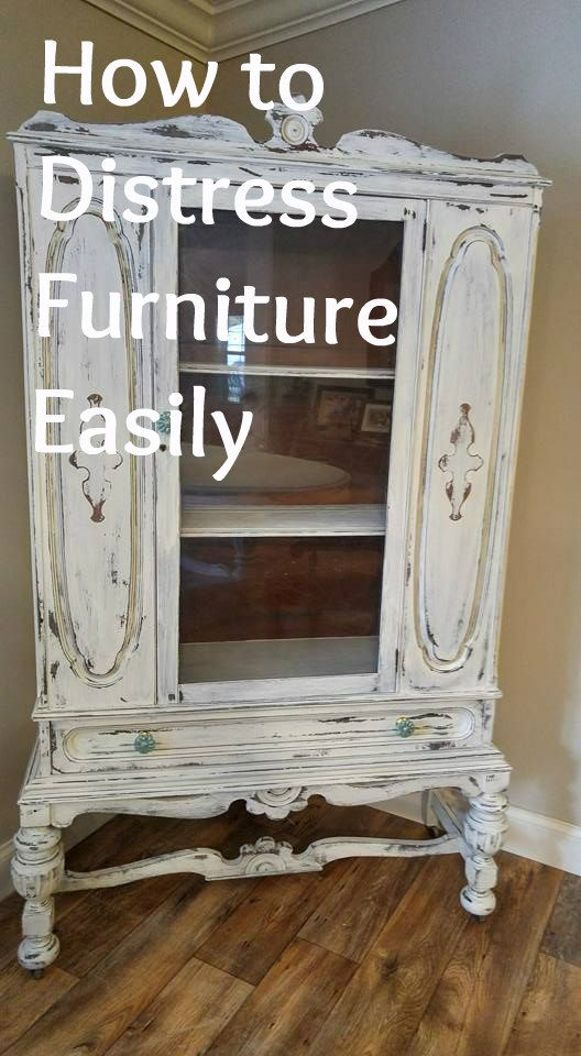 How To Distress Furniture White Painted Furniture Painted Furniture Colors Distressed Furniture Painting
