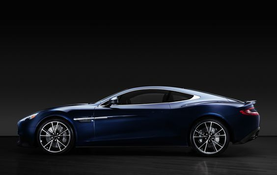 Aston Martin Vanquish Centenary Edition 2014 from Daniel Craig's personal collection