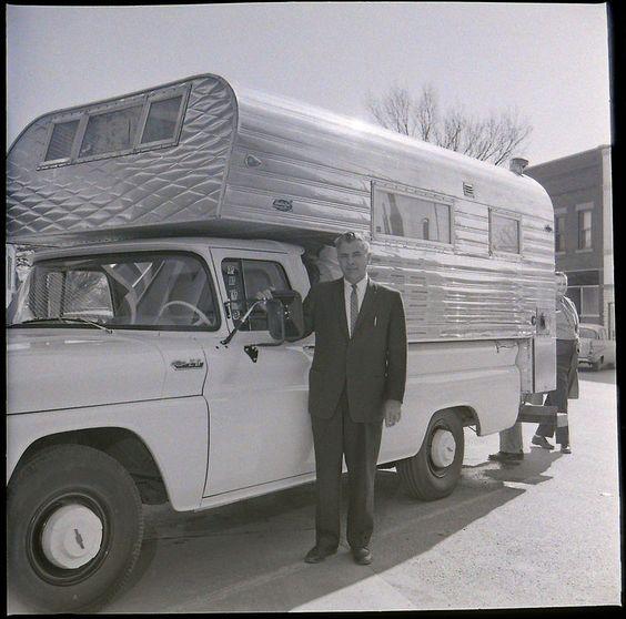 Chevrolet Camper Shell: Pinterest • The World's Catalog Of Ideas
