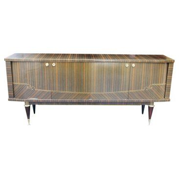 Check out this item at One Kings Lane! French Art Deco Macassar Buffet