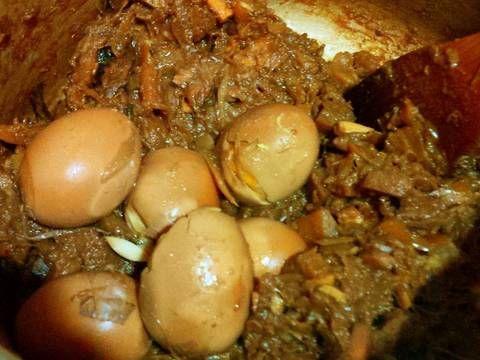 Resep Gudeg Nangka Simpel No Daun Jati Enakkk Oleh Tintin Rayner Resep Resep Sederhana Resep Makanan