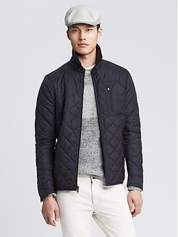 Navy Quilted Jacket | Travel Style - Men's Jackets | Pinterest ...
