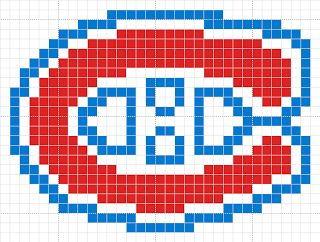 patron tricot logo canadien