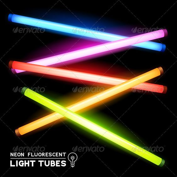 Neon Fluorescent Light Tubes .      Neon Fluorescent Light Tubes – Vector light strips. EPS10 vector file with transparencies. Knowledge of vector editing software required.                     Created: 5 February 14                    Graphics Files Included:   Vector EPS                   Layered:   Yes                   Minimum Adobe CS Version:   CS             Tags      amazing, asset, beautiful, bright, colourful, design, electricity, element, energy, fluorescent lights, glowing…