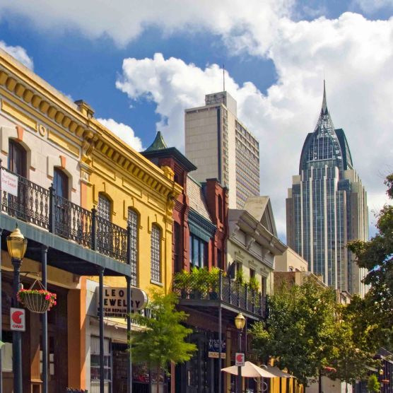 Dauphin Street, Mobile, Alabama