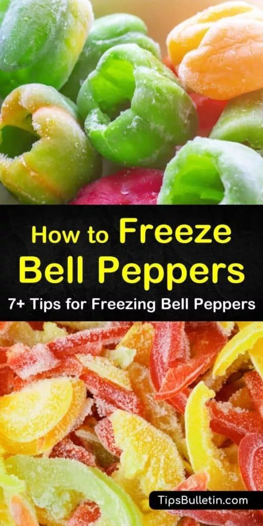 7 Smart Ways To Freeze Bell Peppers In 2020 Stuffed Bell Peppers Stuffed Peppers Freezing Bell Peppers