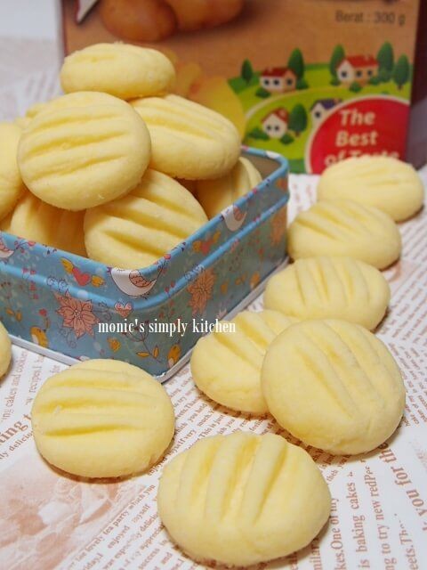 Melt In Mouth German Cookies Resep Biskuit Resep Makanan Makanan Dan Minuman