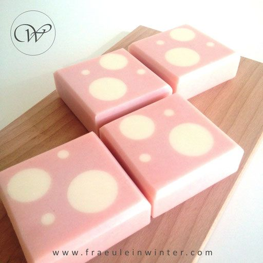 Dots - cold process soap