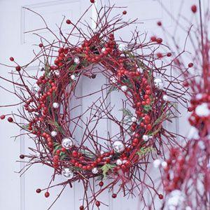 Crazy Cranberry Wreath - Love it!!!!