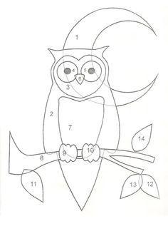 .owl applique