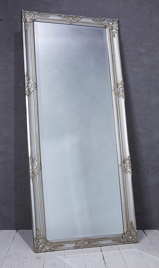 Wholesaler Gmbh Wandspiegel Spiegel Silber Ca 180 X 80 Cm Antik Stil Barock Mit Facettenschliff Xl Ankleidespiegel Ga Spiegel Silber Ankleidespiegel Spiegel