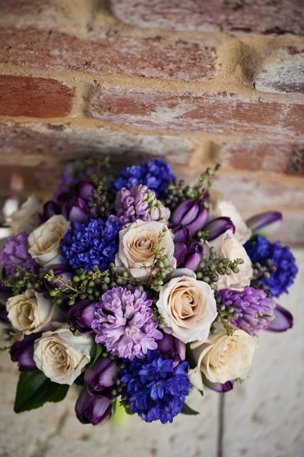 Purples and latte by Zinnia Floral Designs