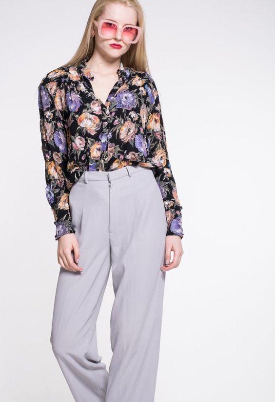 Vintage Floral Patterned GERRY WEBER Retro Shirt