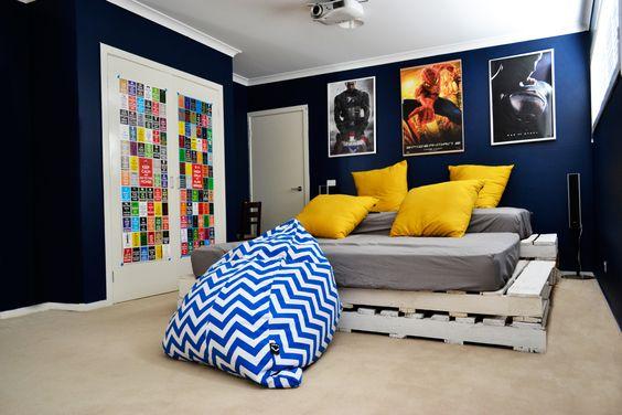 プロジェクター 設置 インテリア ビーズクッション 寝室 アームチェア コーディネート