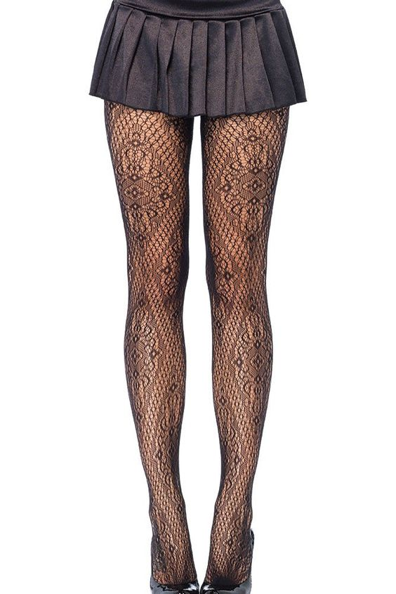 Collant Sexy Florentine Lace – Modebuy.com