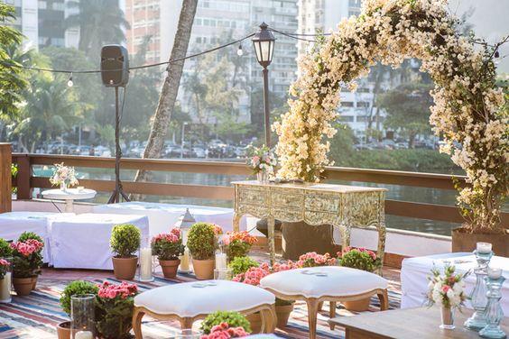 casamento ao ar livre publicado no blog de casamento Colher de Chá Noivas