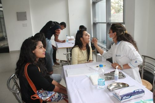 Dental Health Checkup The Northcap University Organized An On