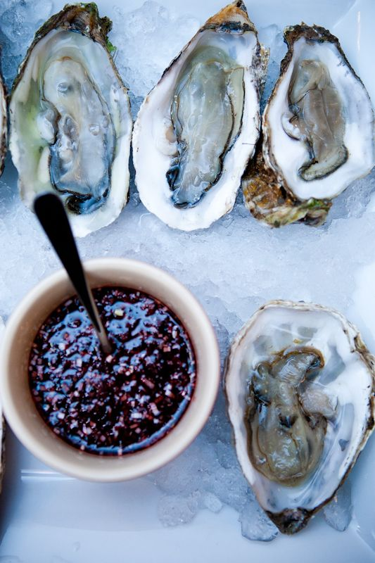 #IgniteTheSpark with aphrodisiacs. Mmm, oysters!