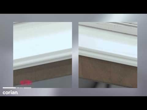 Corian Design Higher Performance Corian Joint Adhesive Youtube
