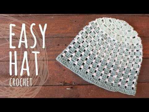 Tutorial Easy Crochet Baby Girl Dress With Flowers Lanas Y Ovillos In English Youtube Crochet Hats Crochet Easy Crochet Hat