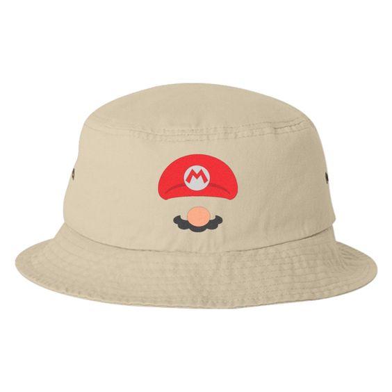 Mario Embroidered Bucket Hat