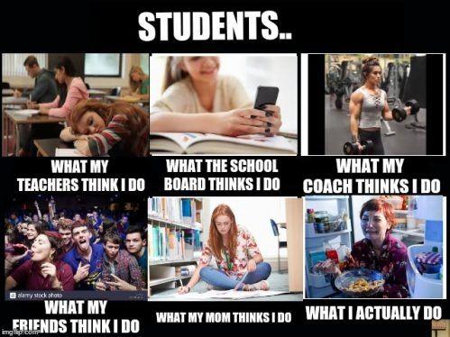 11 Best What My Mom Thinks I Do Meme Generator Photo 2021 Memes My Teacher Relatable