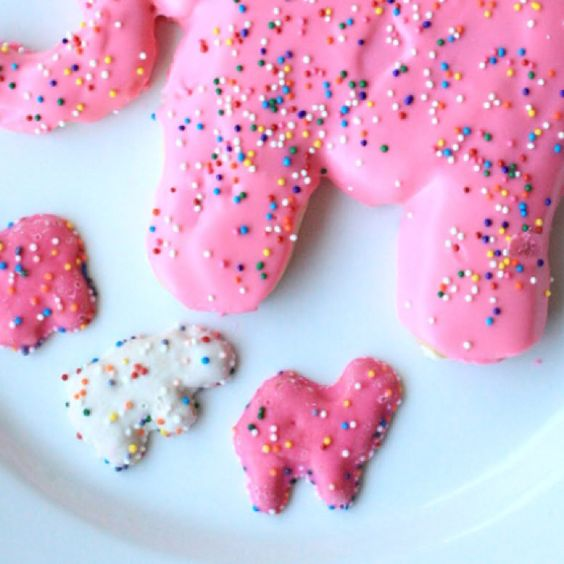 Homemade Jumbo Animal Cookies