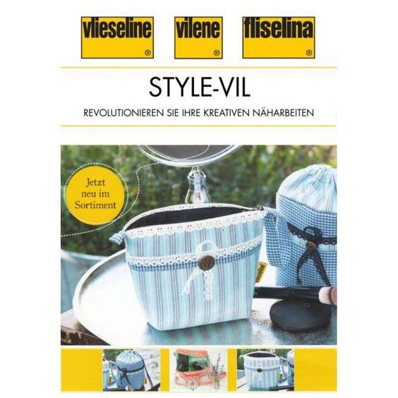 Vlieseline Style-Vil weiss 72cm Meterware - Neocreo.com