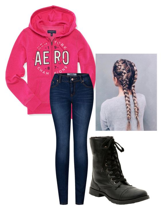 """I'm Literally Wearing This Right Now"" by fashiongirl246 ❤ liked on Polyvore featuring Aéropostale and 2LUV"