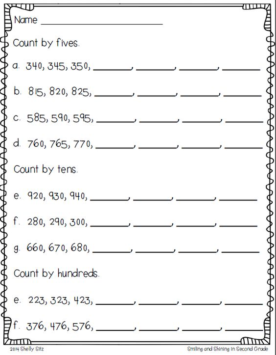 Number Names Worksheets : skip counting by fives worksheets ~ Free ...