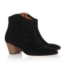 NEW☆ Isabel Marant Dicker suede ankle boots Isabel0041