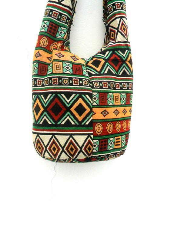Shoulder Bag Sling Hippie Hobo Nepal Bag Hobo Crossbody Bag Boho Bohemian Bag Purse Cross Body Messenger Bag Gift Multicolor by Avivahandmade on Etsy
