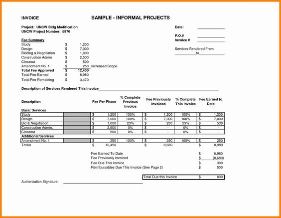 invoice for services rendered template job resumed certification - services rendered invoice