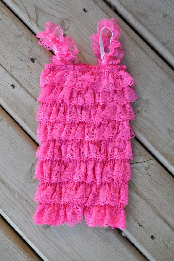 Petti romper  Bubblegum Pink  Photography Prop  by PrincessPlease, $13.99