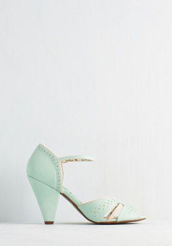 Earnest Enchantment Heel | Mod Retro Vintage Heels | ModCloth.com