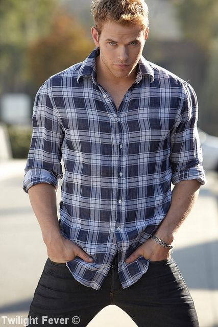 Kellan Lutz  He is more my style for an Edward Cullen.....my top for who will be Christian Grey