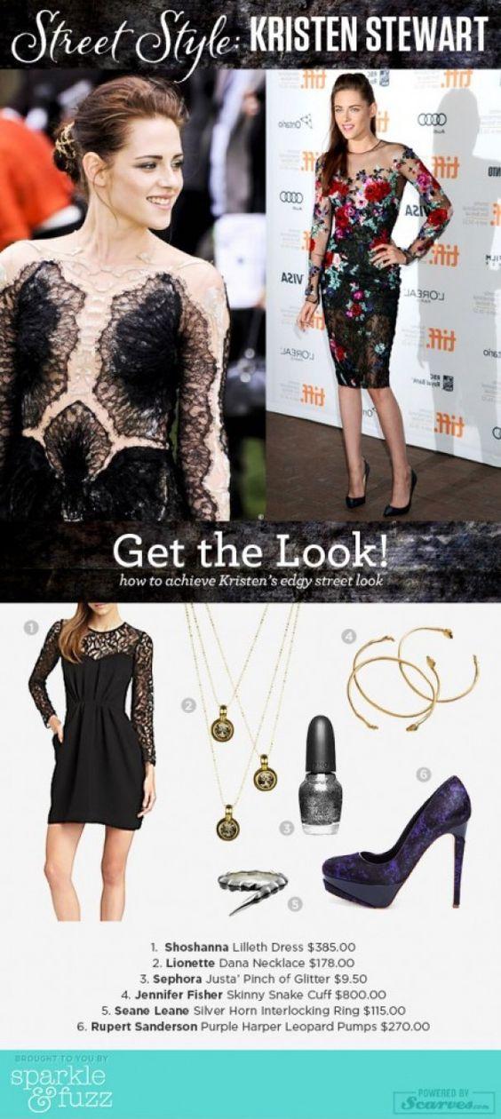 "How to get Kristen Stewart's ""long sleeve sexy"" look!"
