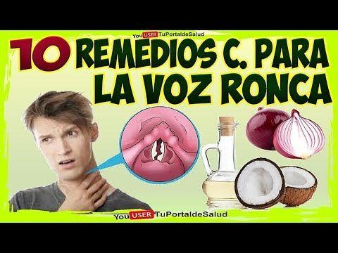 Remedios naturales para la tos y ronquera