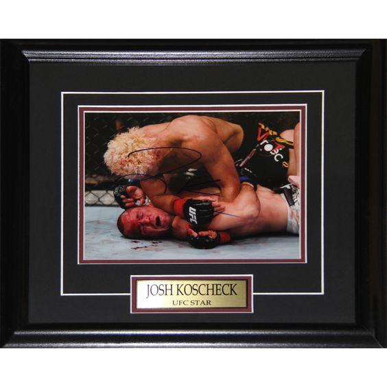 Midway Josh Koscheck UFC Signed 8x10-inch Frame