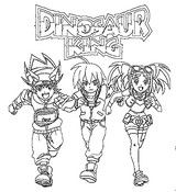 Coloring Pages Dinosaur King