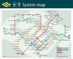 Transitlink MRT - System Map