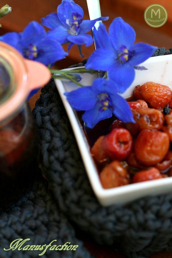Herzhafte Pfefferkirschen zu Wild und Käse - Pepper Cherries for cheese and dishes of wild game