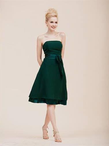 hunter green cocktail dress 2017 » My Dresses Reviews | Fashion ...